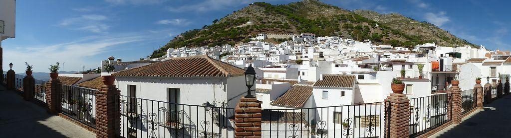 visita guiada mijas pueblo - taxi grande Malaga