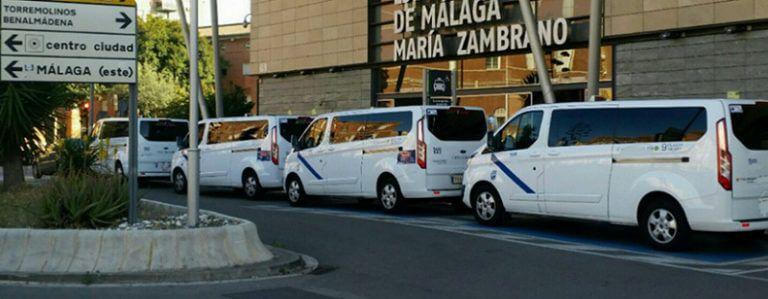 taxi minivan malaga