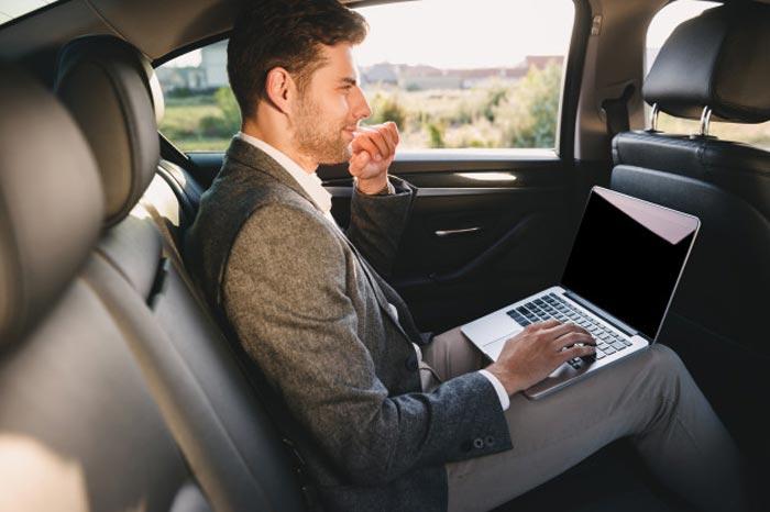 taxi de negocios en Málaga · Taxi de ocio