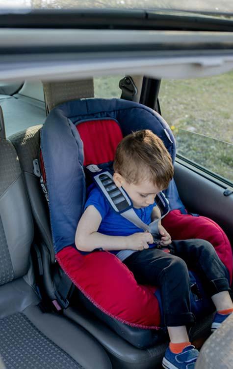 desplazamientos en taxi con tu hijo